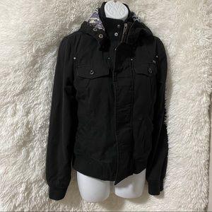 Black TNA Warm Jacket